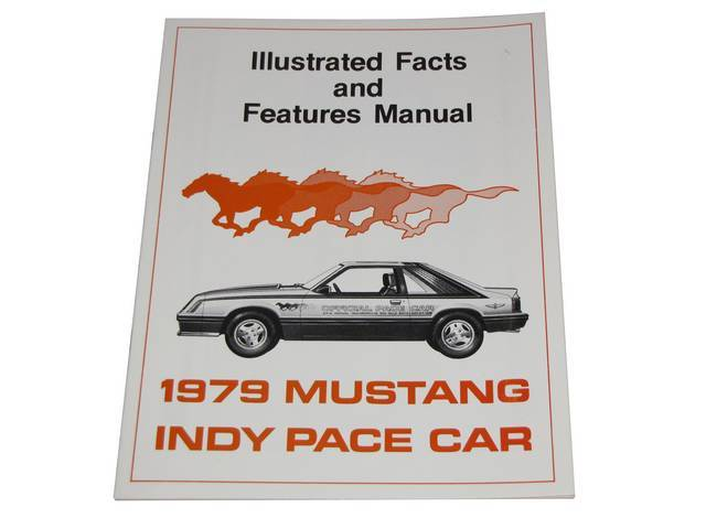 Facts Book, 1979 Indy 500 Illustrated Facts And Features