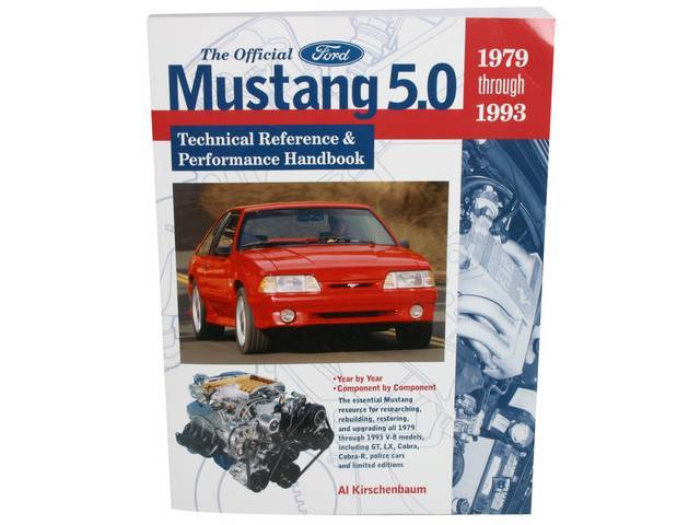 Book, The Official Ford Mustang 5.0 Technical Reference