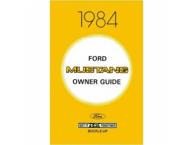 Owner Manual, Reprint Of The Original, This Is
