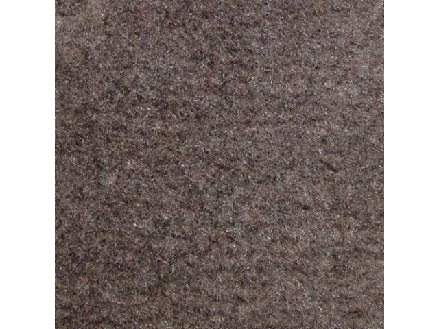 Carpet Quarter Trim Pair Smoke Gray Convertible Models