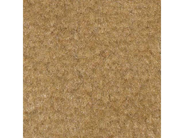 Carpet, Quarter Trim, Pair, Desert Tan, Convertible Models Only, Incl Rh And Lh Sides, Use General Spray Adhesive To Attach, Repro