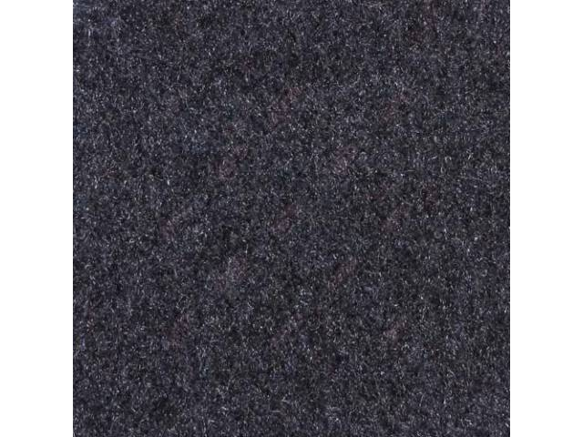 Carpet, Quarter Trim, Pair, Regatta Blue, Convertible Models Only, Incl Rh And Lh Sides, Use General Spray Adhesive To Attach, Repro