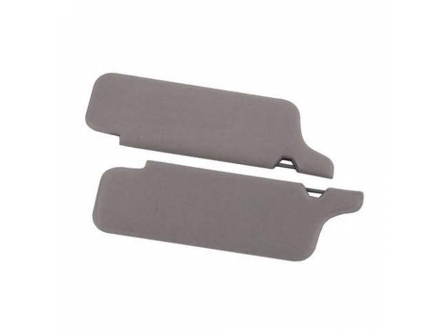 Sunvisor Set Medium Graphite Cloth Does Not Incl