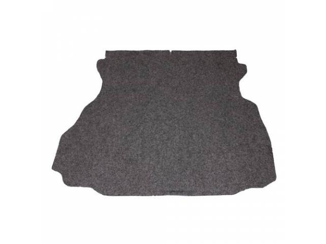 Trunk Mat Carpet Heather Gray / Silver Gray