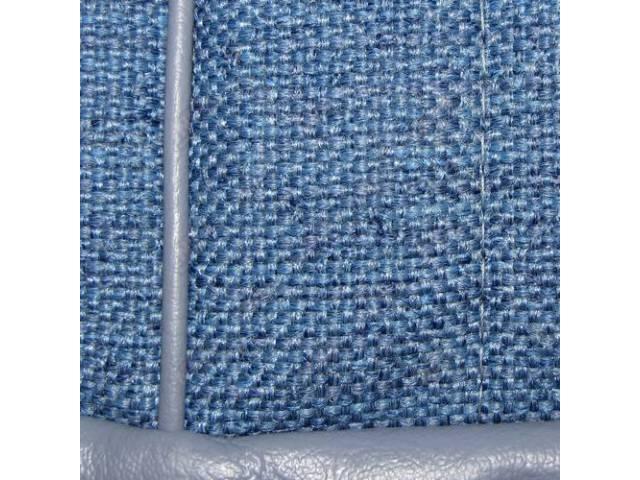 Upholstery Set, High Back Buckets, Cloth / Vinyl,