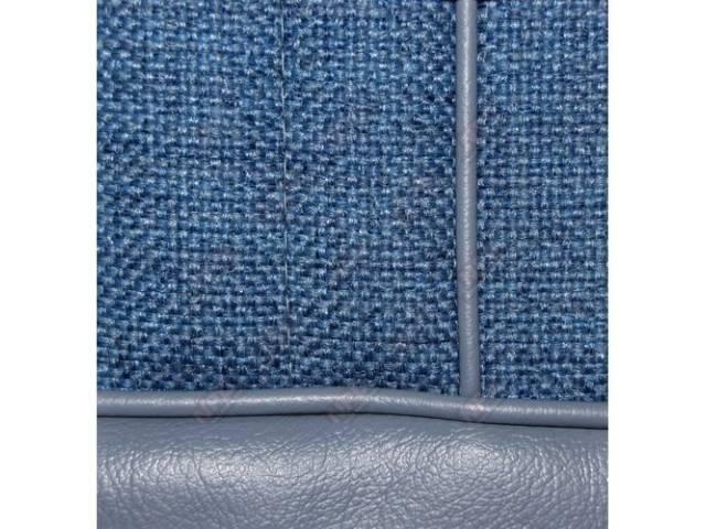 Upholstery Set High Back Buckets Cloth / Vinyl