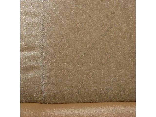 Upholstery Set Low Back Buckets Cloth Desert Tan