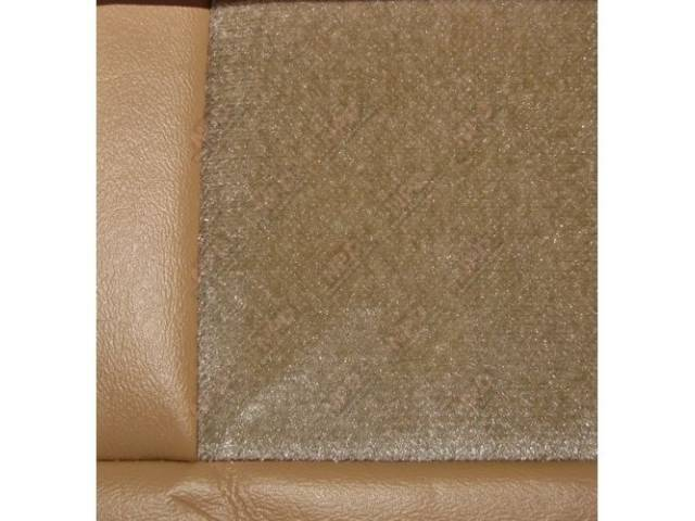 Upholstery Set Low Back Buckets Cloth Desert Tan