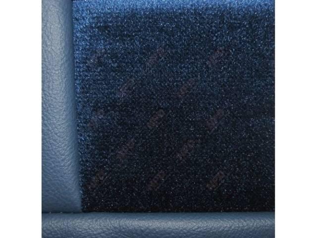 Upholstery Set Low Back Buckets Cloth Regatta Blue