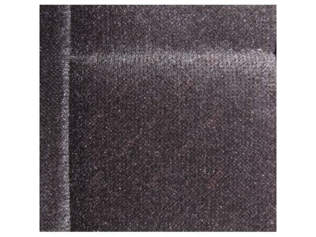 Upholstery Set Low Back Buckets Cloth Medium Smoke
