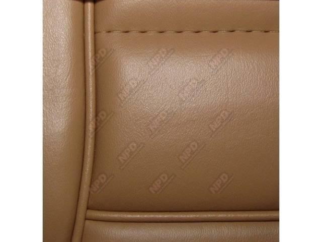 Upholstery Set Low Back Buckets Vinyl Desert Tan