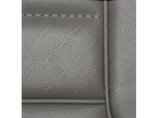 Upholstery Set Low Back Buckets Vinyl Titanium W/