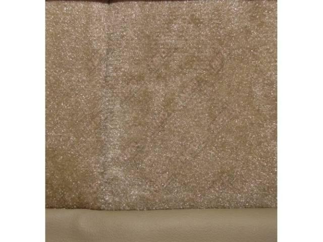 Upholstery Set Articulated Sport Buckets Cloth Desert Tan