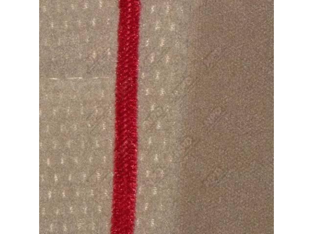 Upholstery Set Articulated Sport Buckets Cloth Sand Beige