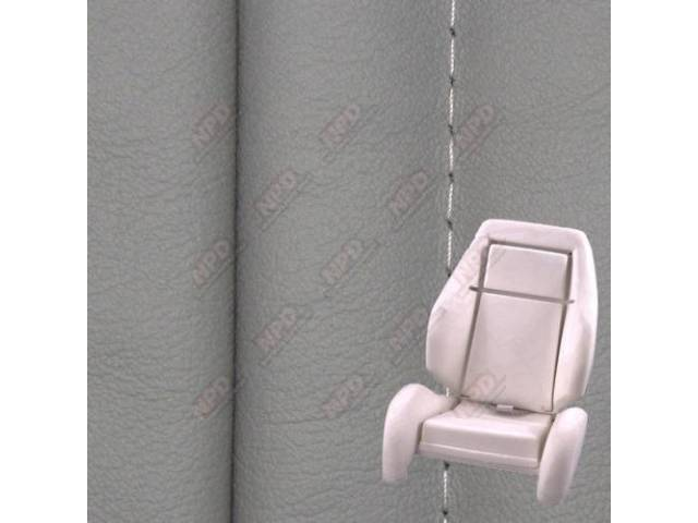 Upholstery And Seat Foam Set, Sport Seat Conversion,