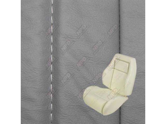 UPHOLSTERY AND SEAT FOAM SET ARTICULATED SPORT BUCKETS