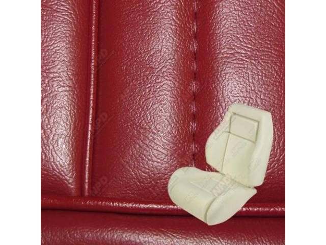 Upholstery And Seat Foam Set Sport Seat Conversion