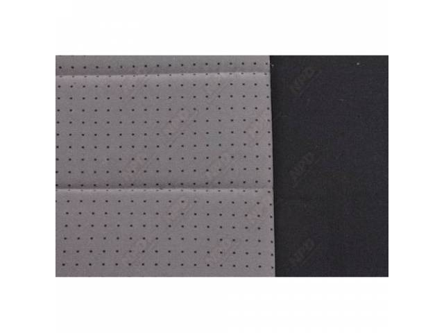 Upholstery Set Svo Sport Buckets Cloth Charcoal Gray