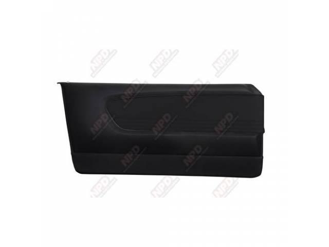 DOOR PANELS Sport Deluxe black custom design full