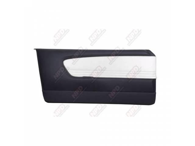 DOOR PANELS Sport Deluxe black and white custom