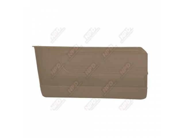 DOOR PANELS Sport Deluxe parchment custom design full