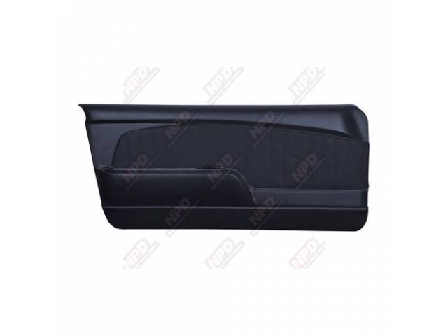 DOOR PANELS Sport Deluxe blue custom design full