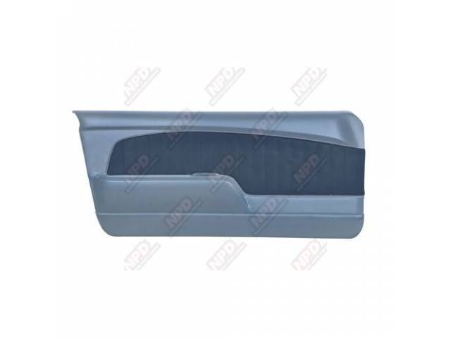 DOOR PANELS Sport Deluxe light blue sierra grain