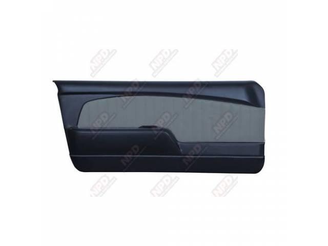 DOOR PANELS Sport Deluxe dark blue w/ brushed