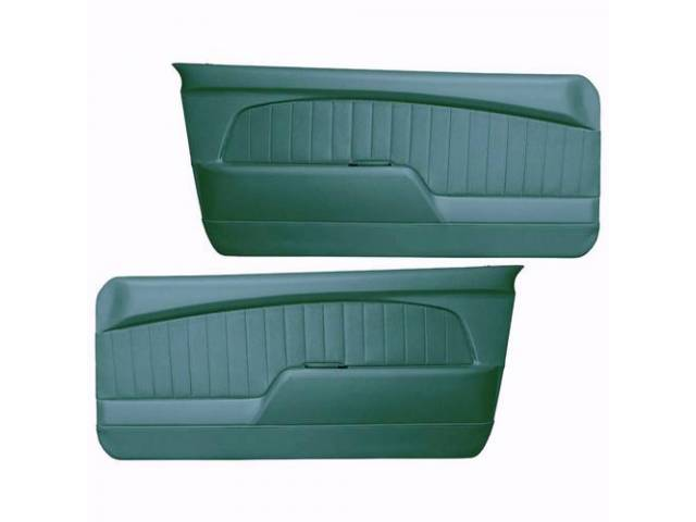 DOOR PANELS Sport Deluxe turquoise custom design full