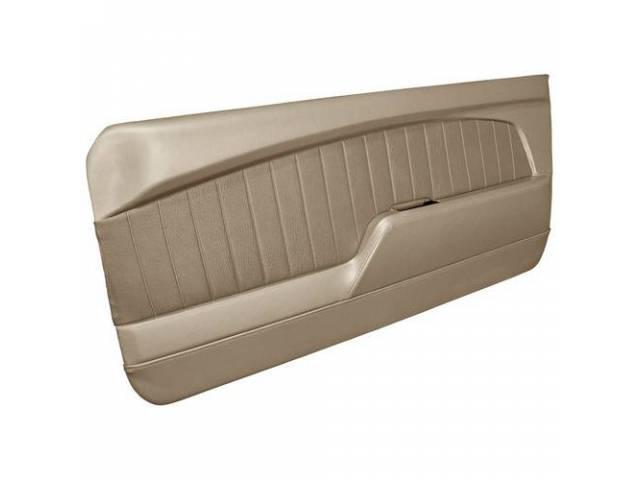 DOOR PANELS Sport Deluxe parchment sierra grain w/