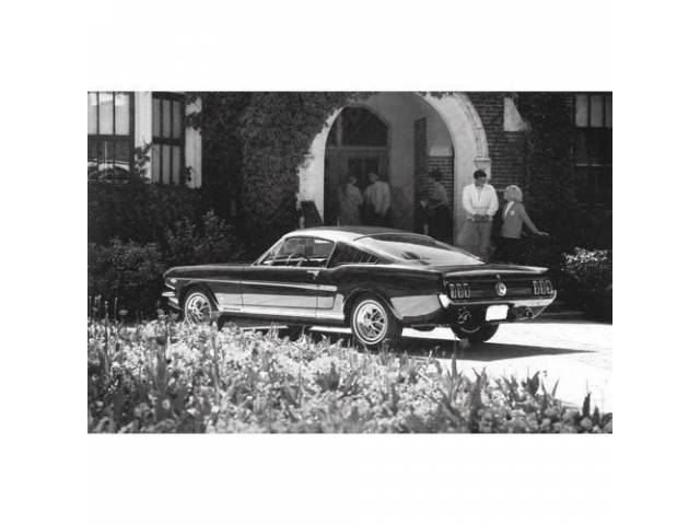 CLASSIC PHOTO, 1966 FASTBACK PROTOTYPE, 12 INCH X