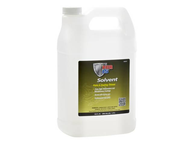 SOLVENT, POR-15, gallon, the only appropriate solvent to