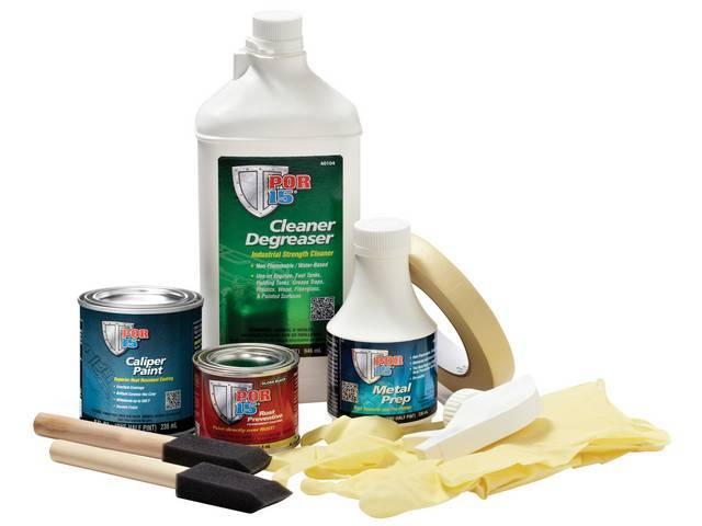 POR-15 Caliper Painting Kit, Silver