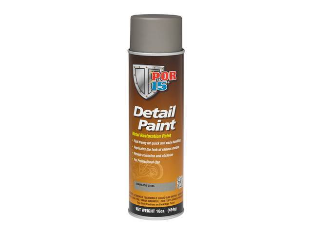Detail Paint Por-15 Stainless Steel 15 Ounce Aerosol
