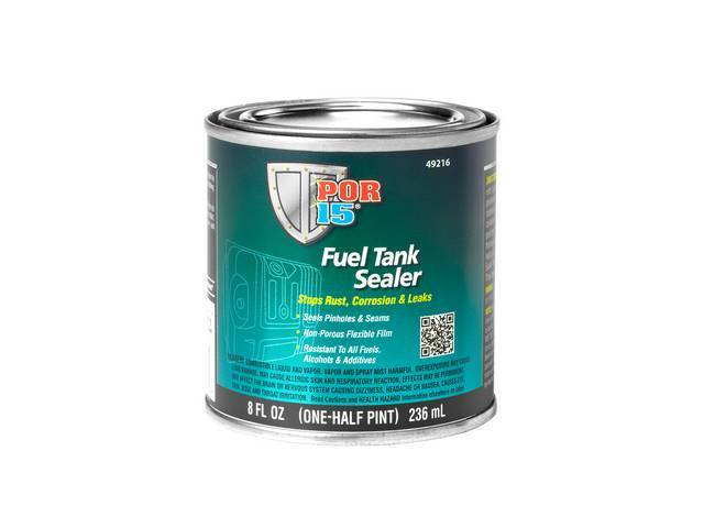 Fuel Tank Sealer Por-15 Half-Pint 8 Ounce Can
