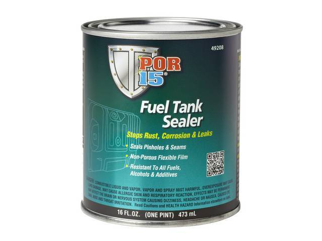 Fuel Tank Sealer Por-15 Pint Bonds To Metal