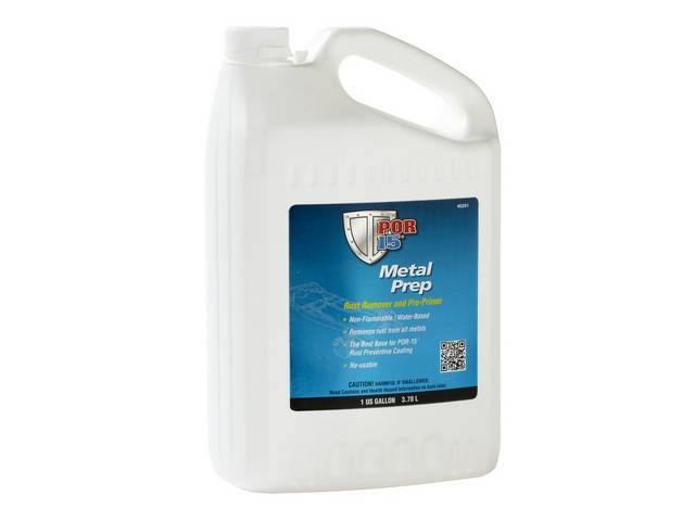 METAL PREP, POR-15, gallon, use as step 2