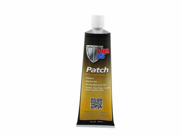 PATCH, POR-15, white, 4 ounce tube, literally POR-15