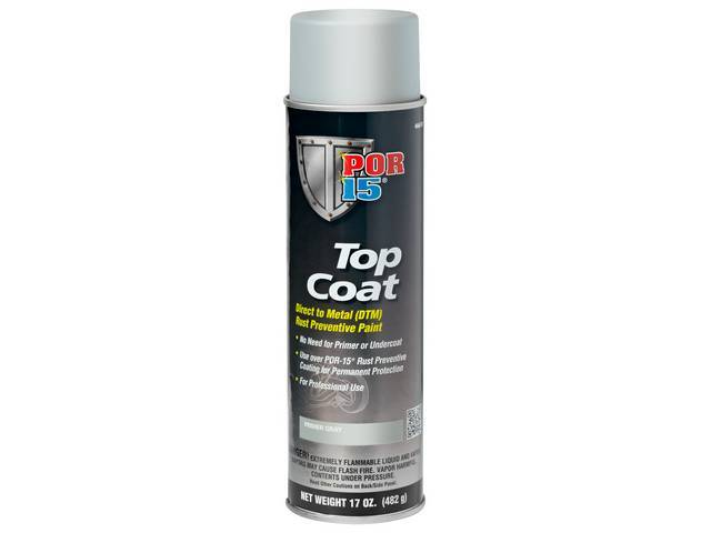 Top Coat Por-15 Primer Gray 14 Ounce Aerosol