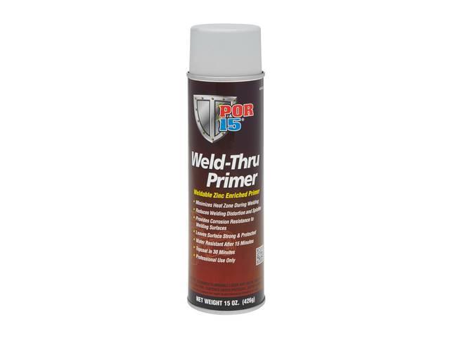 WELD THRU PRIMER, POR-15, 15 ounce aerosol spray