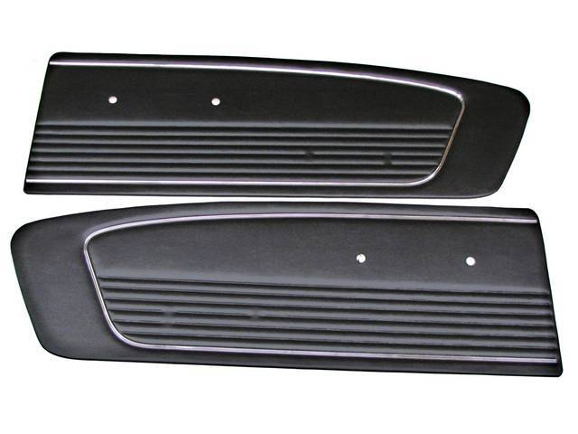 DOOR PANELS, STANDARD, BLACK,