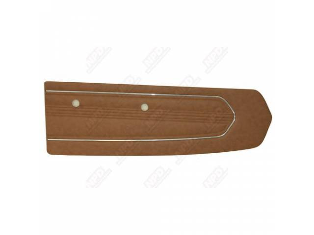DOOR PANELS, STANDARD, PALOMINO