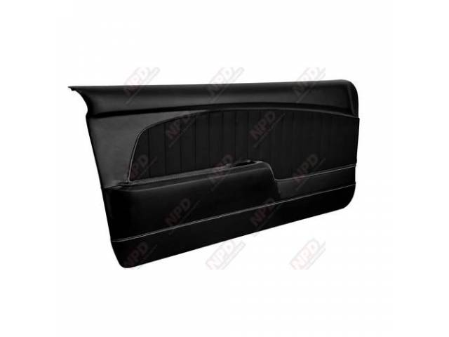 DOOR PANELS Sport Deluxe black custom design full