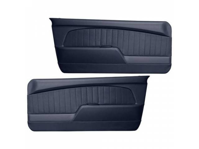 DOOR PANELS Sport Deluxe blue custom design full