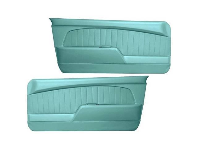DOOR PANELS Sport Deluxe turquoise custom design full