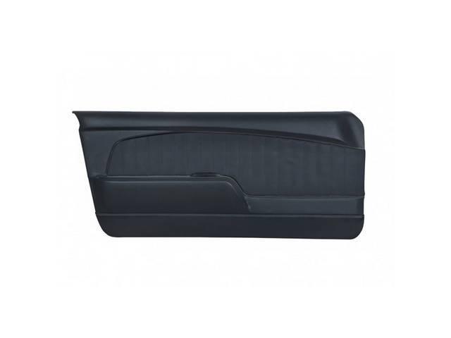 DOOR PANELS Sport Deluxe black sierra grain w/