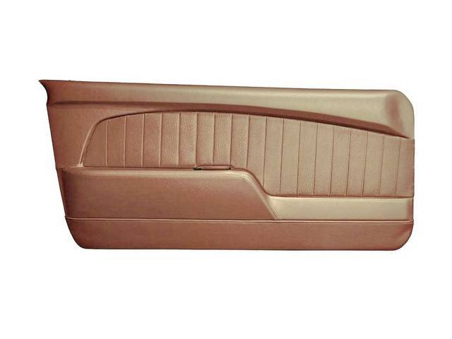 DOOR PANELS Sport Deluxe nugget gold custom design