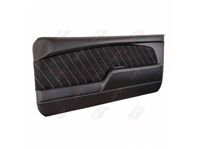 DOOR PANELS Sport R black gloss finish vinyl