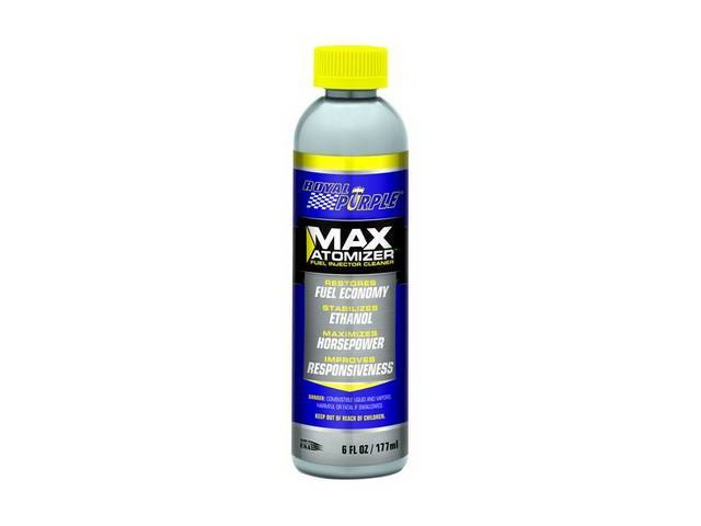 Fuel Injector Cleaner Royal Purple Max-Atomizer Cleans Clogged