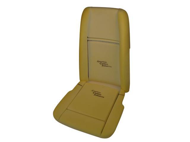 SEAT FOAM, PROFESSIONAL GRADE, CONCOURS, US-made, CONCOURS APPROVED